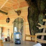 Cadre de vie en extérieur dans cabane Escarcelle
