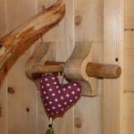 loquet en bois pour porte cabane