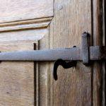 Loquet de porte d'entré de la chambre la tour