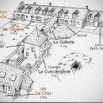 position géographique des gites et des chambres d'hôtes