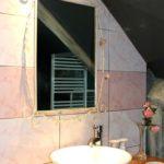 plan de toilette dans gîte la maison du garde